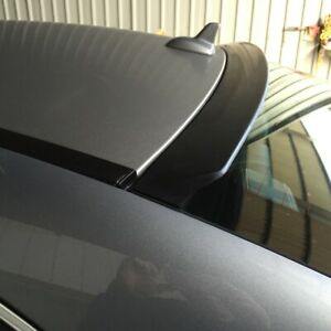 Flat Black Vrs Type Rear Roof Spoiler For Honda Civic Insight Hatchback 2010 14