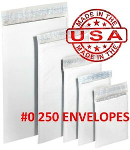 250 0 6x10 Poly Bubble Padded Envelopes Mailers Shipping Case 6 x10 Free Ship