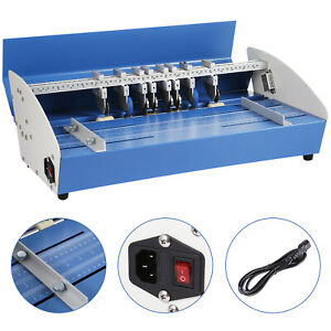 5in1 20 5 Electric Paper Creasing Machine Creasers Perforator Scoring