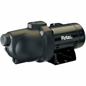 Flotec Fp4022 12 Gpm 3 4 Hp Thermoplastic Shallow Well Jet Pump 115v 230v