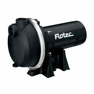 Flotec Fp5172 67 Gpm 1 1 2 Hp Self priming Thermoplastic Sprinkler Pump