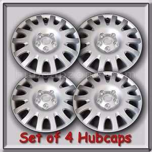 Toyota Camry Hubcaps 2005 2006 Replica Camry Wheel Covers Set Of 4 16 Silver