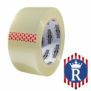 2 X 110 Yd Clear Carton Sealing Box Tape 2 3mil ships Today