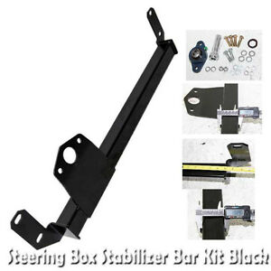Steering Gear Box Stabilizer For 03 08 Dodge Ram 2500 3500 4wd Only Black