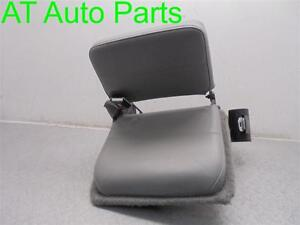 1997 Ford Ranger Driver Rear Jump Seat Gray With Seat Belt Oem