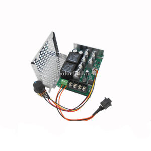 Pwm Dc Motor Speed Controller Motor 12v24v36v48v Inverted Switch Reversing 40a