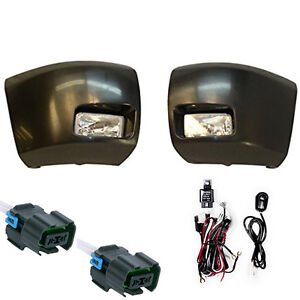 Bumper Ends W fog Lights 2007 2013 Chevy C1500 Full Wiring Kit Ship Same Day