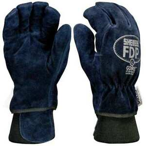 Shelby 5227 Xl Firefighters Gloves xl cowhide Lthr pr
