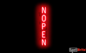 Spellbrite Ultra bright Nopen open Closed Sign Neon Led