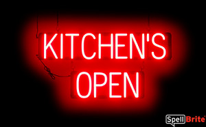 Spellbrite Ultra bright Kitchen s Open Sign Neon Look Led Performance
