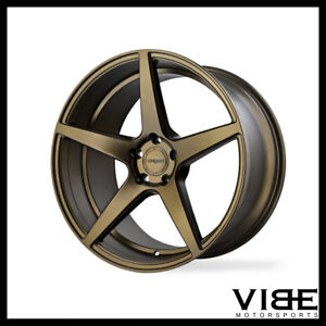 20 Velgen Classic5 Bronze Concave Wheels Rims Fits Dodge Charger