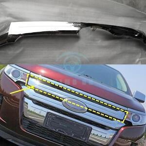 Front Grille Second Paragraph Abs Chromed Decorative Trim For Ford Edge 2011 14