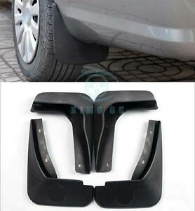 4pcs Polypropylene Fender Splash Guard For Ford Edge 3 5 2011 2014