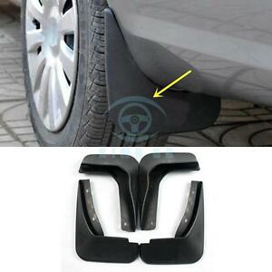 4pcs Polypropylene Fender Splash Guard For Ford Edge 2011 2014 2 0t