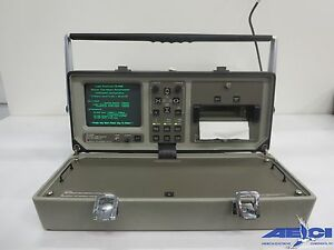 Laser Precision Corp Td9950 Optical Time Domain Reflectometer W x y Plotter 6
