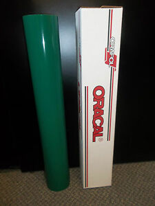 Oracal 651 1 Roll 24 x10yd 30ft Gloss Forest Green Sign Vinyl