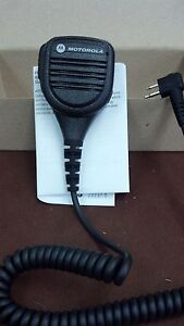 Pmmn4013 New Motorola Microphone For Cp200 Pr400 Cp150