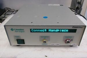 Linvatec Hall Power Pro Controller Pro 2000 Electrosurgical Unit Pro2000