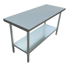 Jet Stainless Steel Commercial Nsf Work Table Holds Up To 800 Pounds 60 X 24