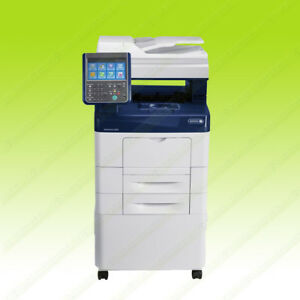 Xerox Workcentre 6655 Laser Color Bw Printer Scanner Copier Fax 35ppm A4 Mfp 24k