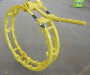 Pipe Welding Clamp 30 Hand Lever No tack Arched Cross Bars Cage Clamp