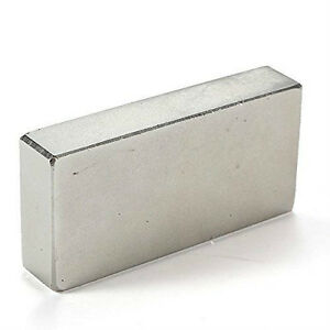 Super Strong N52 Square Neodymium Magnet Block 2 Length 1 Width 2 5 Thickness