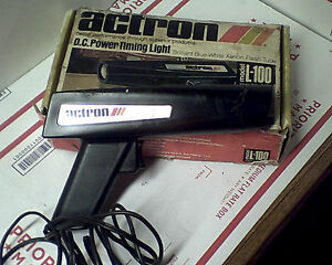 actron timing light instructions