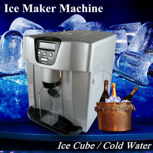 Portable Ice Cube Maker cold Water Countertop Compact Ice Cube Machine Brand New