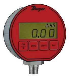 Dwyer Dpg Series Digital Pressure Gauge 0 25 Full Scale