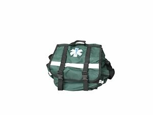 Green Ems emt Paramedic First Responder Trauma Kit