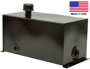 5 Gallon Hydraulic Tank Reservoir Unit For Log Splitters Commercial Duty