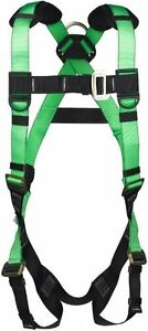 Universal Safety Harness Fall Protection Roofing Gear 1 Size Fits All Adjustable
