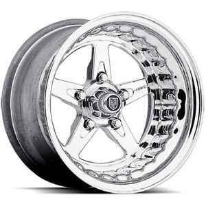 Centerline Cl 8735855547 Convo Banshee Wheel Polished 15 X 8 5