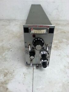 Unholtz Dickey D22pmsf Charge Amplifier
