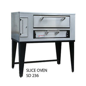 Marsal Sd 236 Slice Series Gas Deck Type Pizza Oven