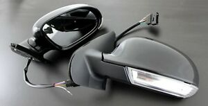 99 05 Vw Golf Jetta Mk4 Replacement Side Mirror Led Mk5 Euro Turn Signal Lights