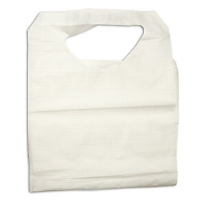 Disposable Dental And Tattoo Bibs Poly Construction 16x33 4405
