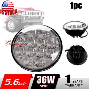 5inch 36w Round Led Work Light Spot Beam Fog Driving Head Lamp Offroad 4wd Truck