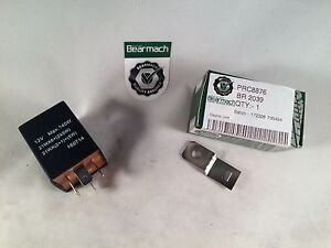 Bearmach Land Rover 4 Pin Flasher Relay with Trailer Socket Prc8876