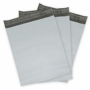 4000 9x12 Poly Mailer Shipping Mailing Envelopes Bags Polymailer 2 5 Mil White