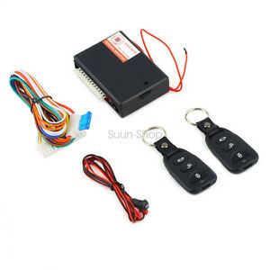 Universal Car Suv Remote Control Central Door Lock Locking Keyle