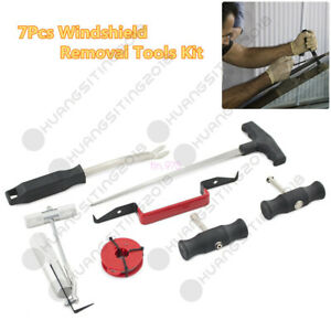 Universal 7in1 Car Windshield Windscreen Removal Remover Repairing Tool Hand Kit