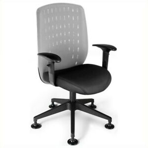 Ofm Vision Executive Guest Chair In Light Gray