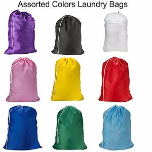 1 2 3 Pack Laundry Bag Heavy Duty Large Jumbo Nylon 30 X 40 Great For College