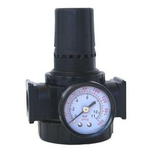 Husky 3 8 Inch Air Compressor Pneumatic Pressure Regulator Gauge Tool Accessory