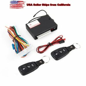 Universal Car Remote Control Central Kit Door Lock Locking Keyless Entry Systems