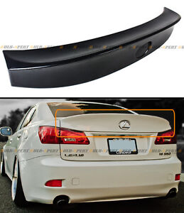 For 2006 13 Lexus Is250 Is350 Isf Wa Style Jdm Duck Bill Abs Rear Trunk Spoiler