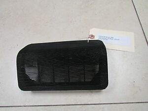 Porsche 944 924 Early Dash Speaker Grille Black 4778571871db