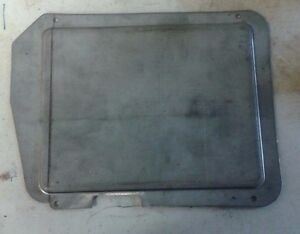 1957 Ford Nos Heater Delete Plate