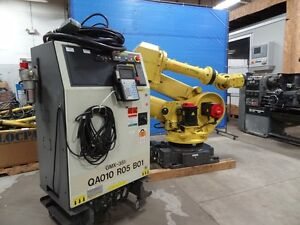 Fanuc R2000ia 210f 6 Axis Cnc Robot With Rj3ib Controller
